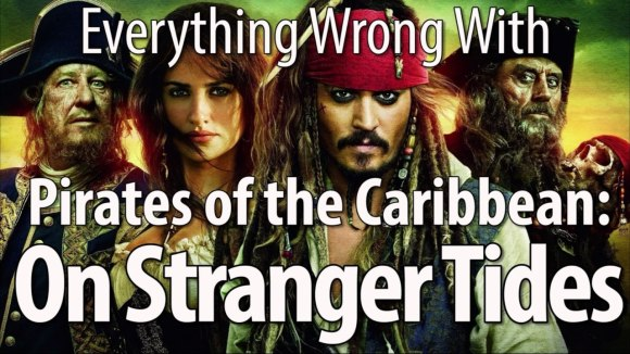 CinemaSins - Everything wrong with pirates of the caribbean: on stranger tides