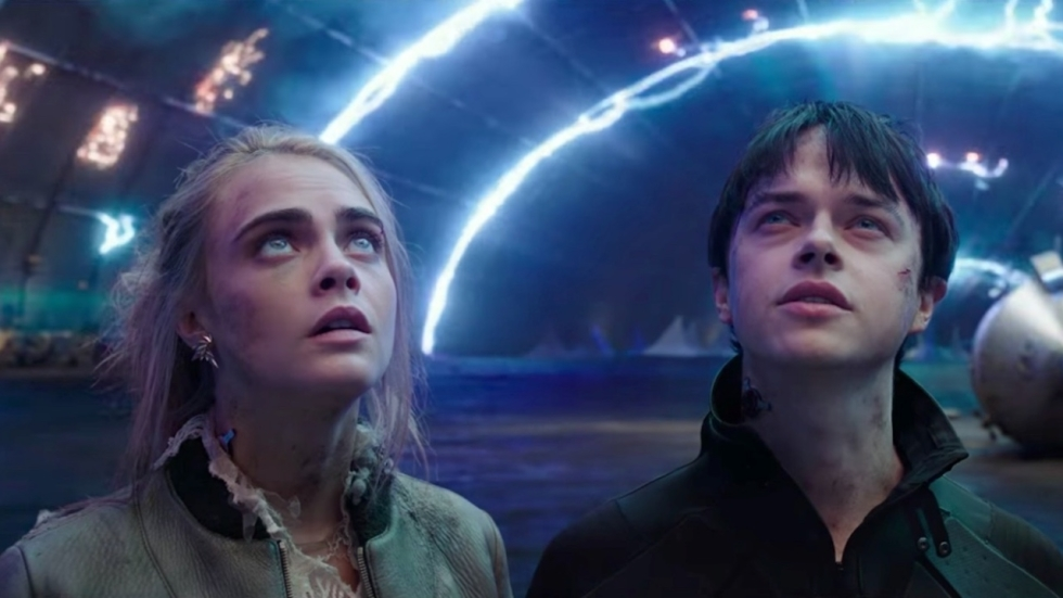 Prachtige laatste trailer 'Valerian and the City of a Thousand Planets'