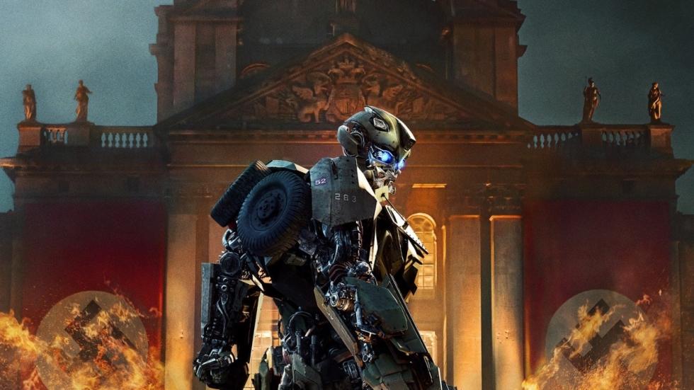 Enorme driekoppige draak in 'Transformers: The Last Knight' spot