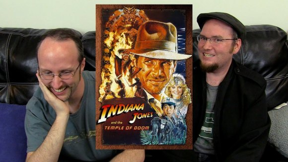 Channel Awesome - Nostalgia critic real thoughts on - indiana jones and the temple of doom
