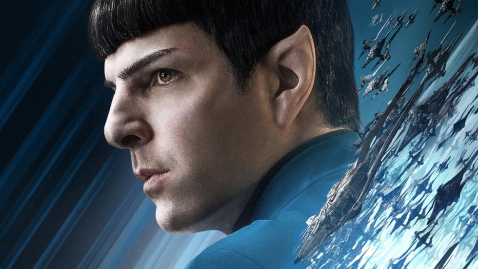 'Star Trek'-acteur Zachary Quinto bezoekt 'Hotel Artemis'