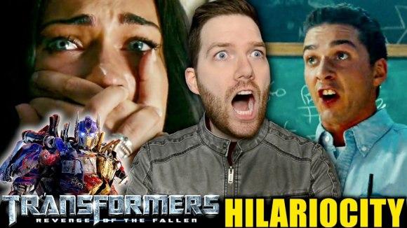 Chris Stuckmann - Transformers: revenge of the fallen - hilariocity review