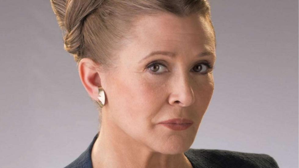 """Opties met Leia in 'Star Wars 9' erg beperkt"""