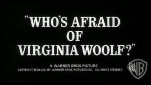 Who's Afraid of Virginia Woolf? (1966) video/trailer