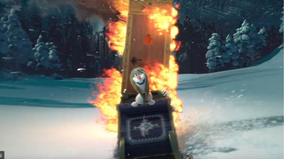 Trailer korte 'Frozen'-film 'Olaf's Frozen Adventure'