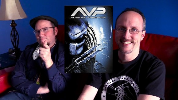 Channel Awesome - Nostalgia critic real thoughts on alien vs predator