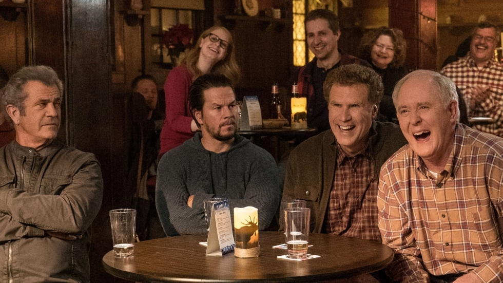 Coole Mel Gibson & vreugdevolle John Lithgow in trailer 'Daddy's Home 2'