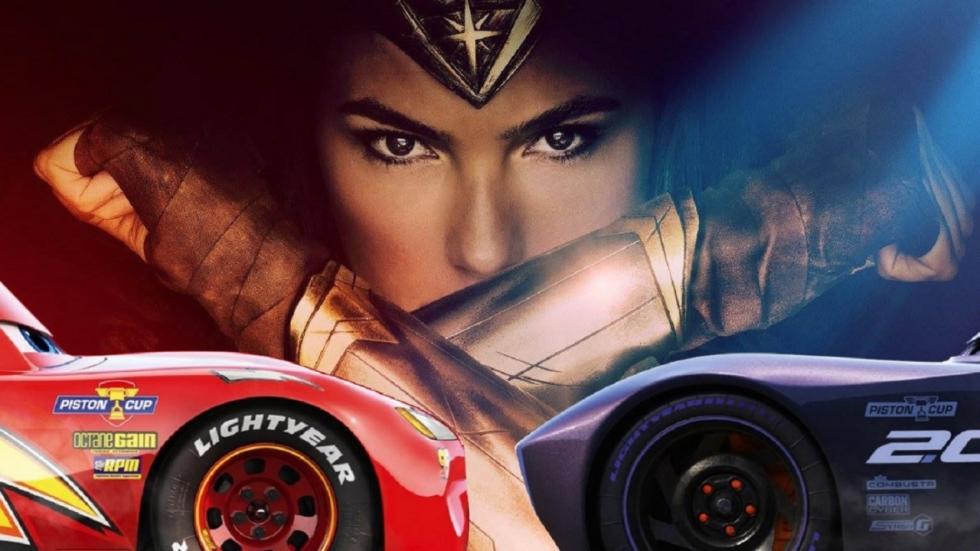 'Cars 3' racet voorbij 'Wonder Woman'; Biopic Tupac trekt veel bekijks