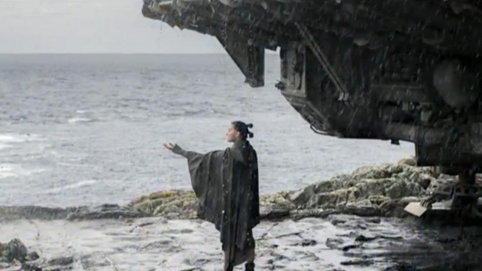 Rian Johnson nam scène op voor 'Star Wars: Episode IX'