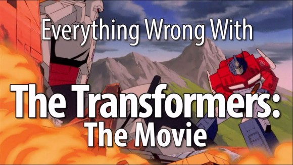CinemaSins - Everything wrong with the transformers: the movie (1986)