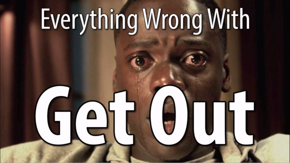 CinemaSins - Everything wrong with get out in 15 minutes or less