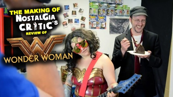 Channel Awesome - Wonder woman - making of nostalgia critic