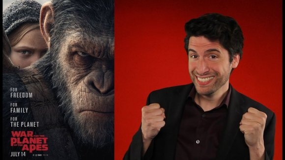 Jeremy Jahns - War for the planet of the apes - movie review