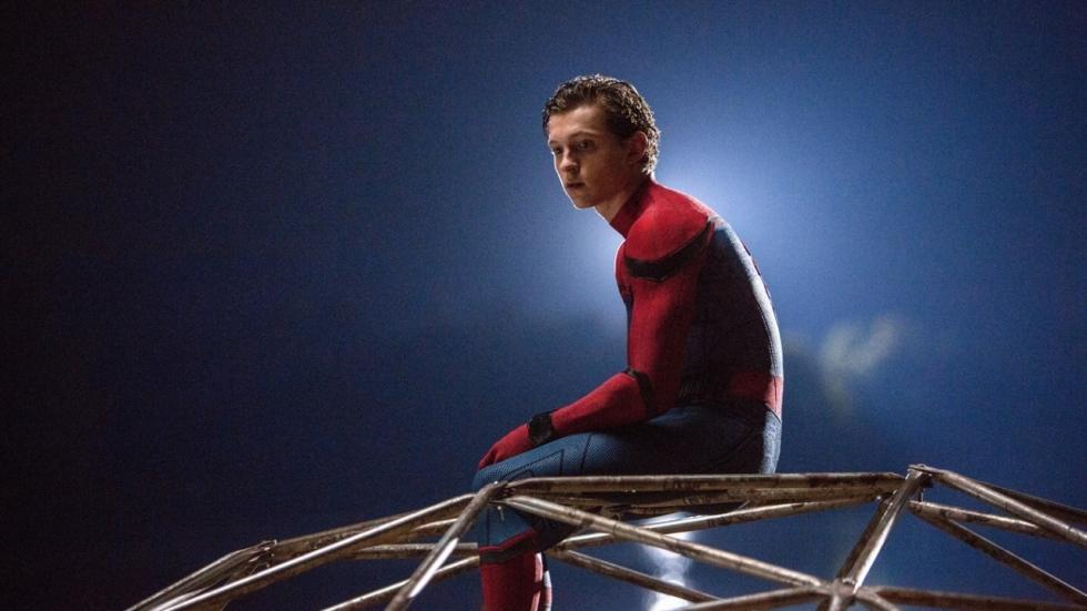 Spider-Man zit in 'Iron Man 2'