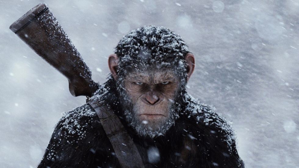Epische laatste trailer 'War for the Planet of the Apes'