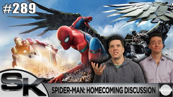 Schmoes Knows - Spider-man: homecoming discussion - sk show #289