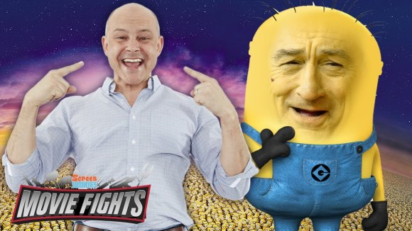 ScreenJunkies - Cast a live-action minions movie (w/ rob corddry!) - movie fights!!