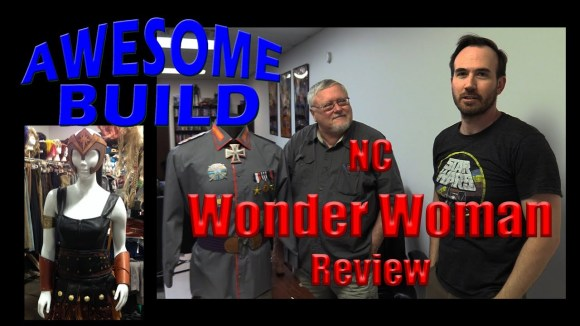 Channel Awesome - Wonder woman - awesome build