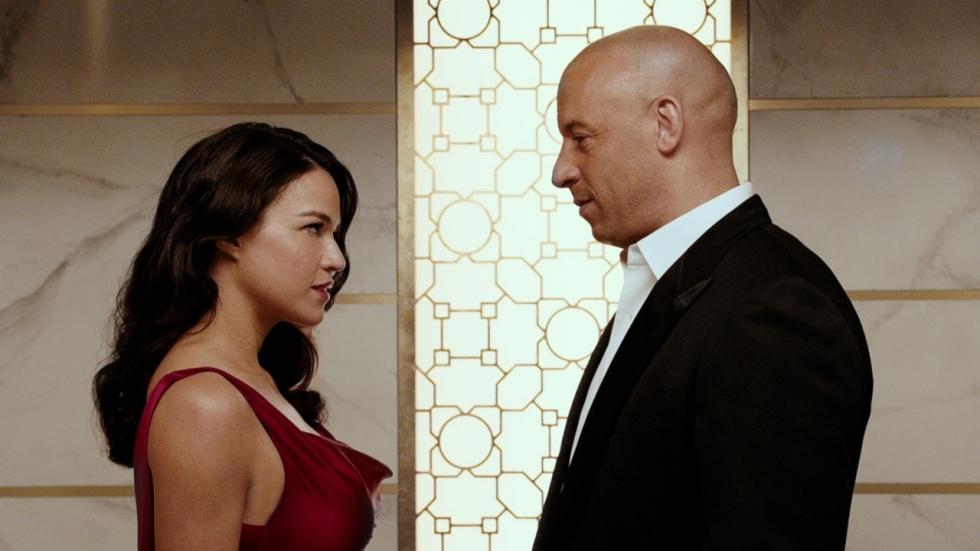 Vin Diesel steunt Michelle Rodriguez rond 'Fast & Furious'-franchise