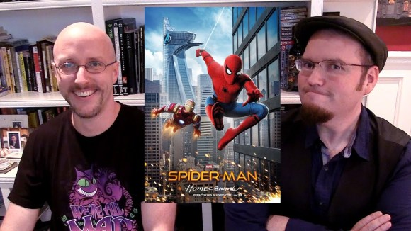 Channel Awesome - Spider-man homecoming - sibling rivalry