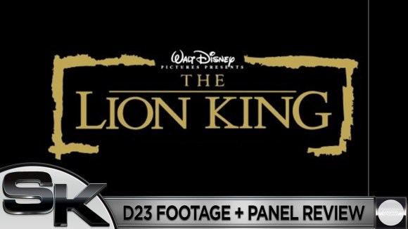 Schmoes Knows - The lion king d23 footage review