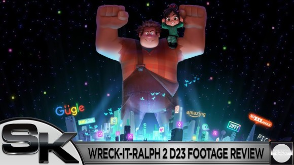Schmoes Knows - Wreck it ralph 2 d23 footage review