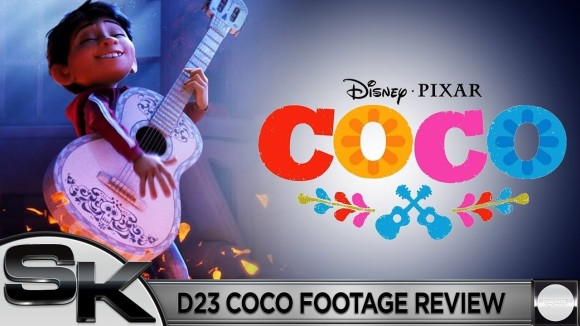 Schmoes Knows - Pixar's coco d23 footage review