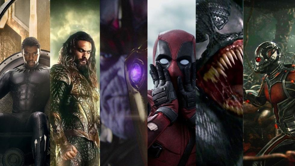 De 11 superheldenfilms van 2018