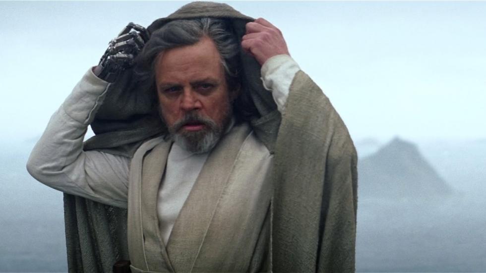 Lichtzwaardgevecht voor Luke in 'The Last Jedi'?