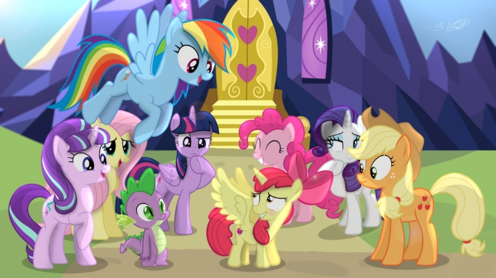 Speciale Comic-Con poster 'My Little Pony: The Movie'