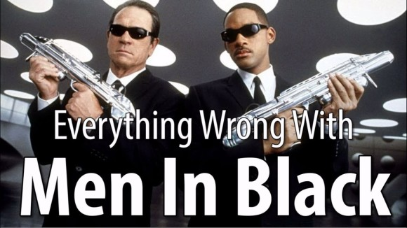 CinemaSins - Everything wrong with men in black in 16 minutes or less