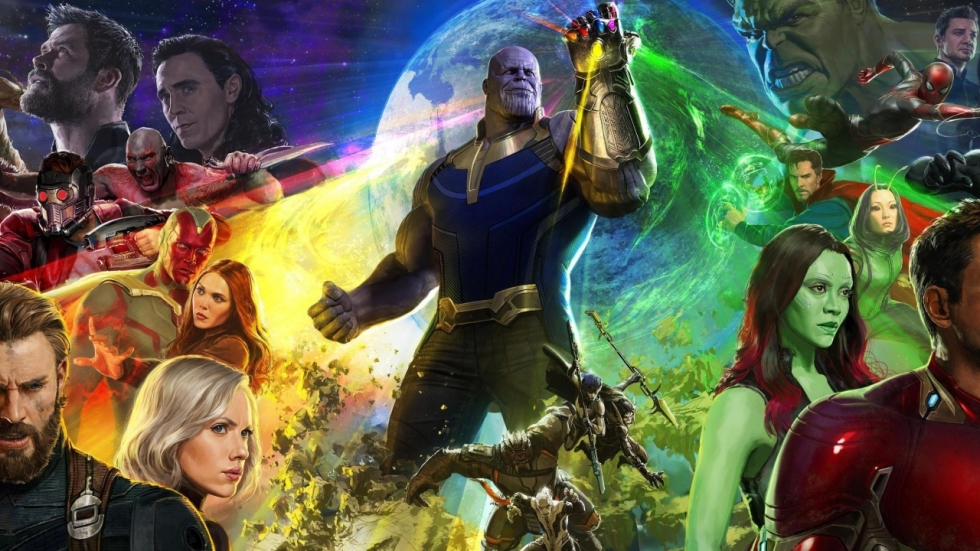 Epische eerste poster 'Avengers: Infinity War'