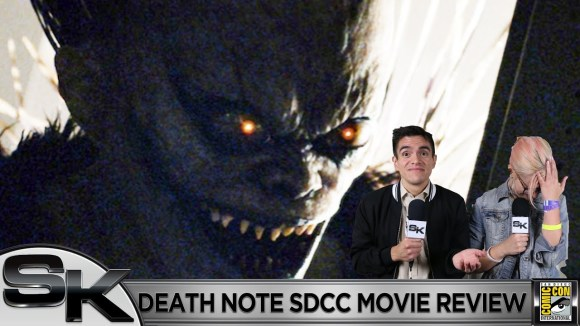 Schmoes Knows - Death note sdcc movie review