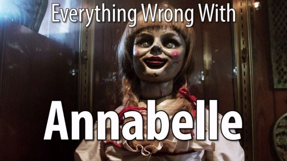CinemaSins - Everything wrong with annabelle in 17 minutes or less