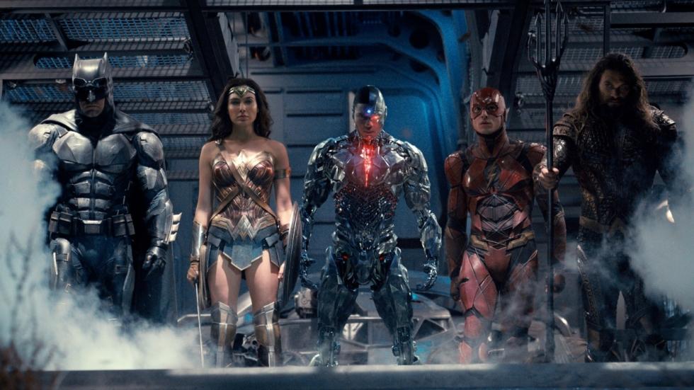 Heropnames 'Justice League' maakten de film lichter