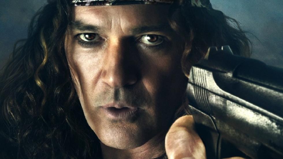 Antonio Banderas als hopeloze, maffe rockster in trailer 'Gun Shy'