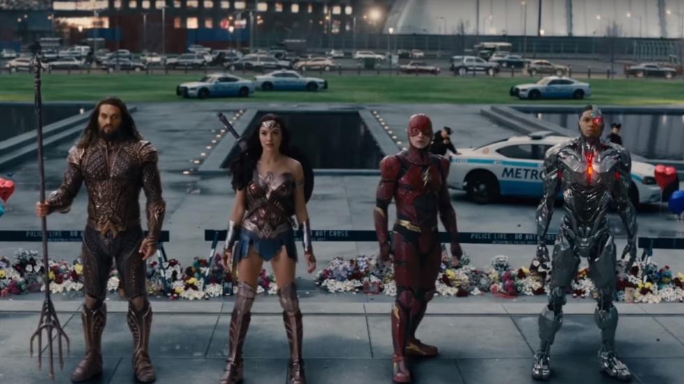 Einde 'Justice League' compleet opnieuw; cliffhanger verwijderd