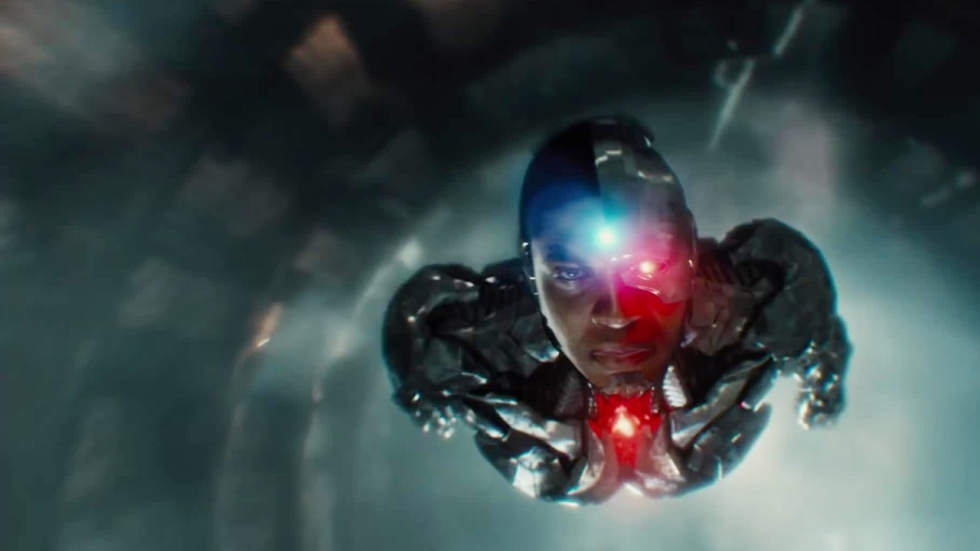 Cyborg kwaad op vader in 'Justice League'