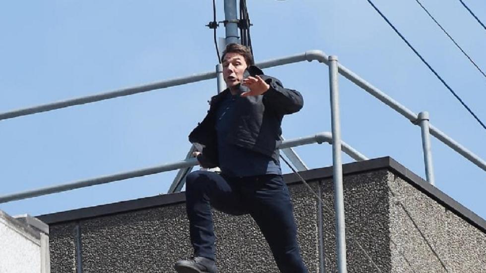 Ongeluk Tom Cruise zet productie 'Mission: Impossible 6' naar verluidt stil