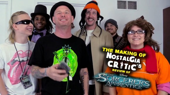 Channel Awesome - Sorcerer's apprentice - making of nostalgia critic
