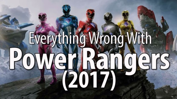 CinemaSins - Everything wrong with the power rangers (2017)
