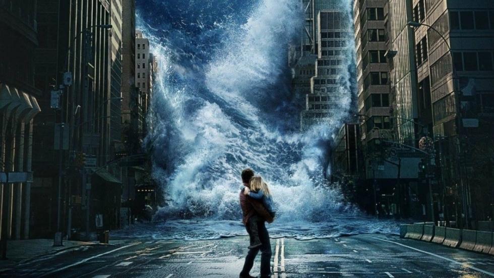 Geen ontsnapping mogelijk op poster 'Geostorm'