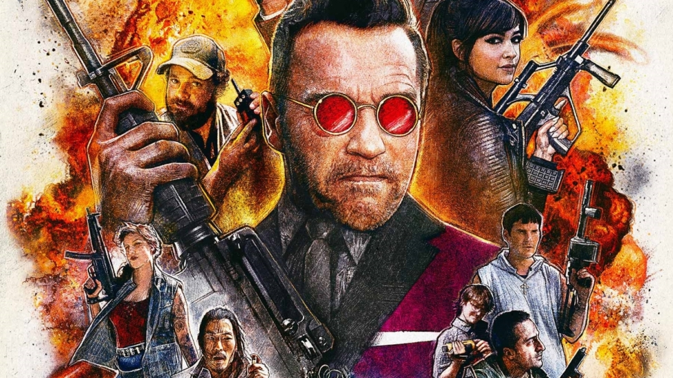 Arnold Schwarzenegger moet dood in trailer 'Killing Gunther'