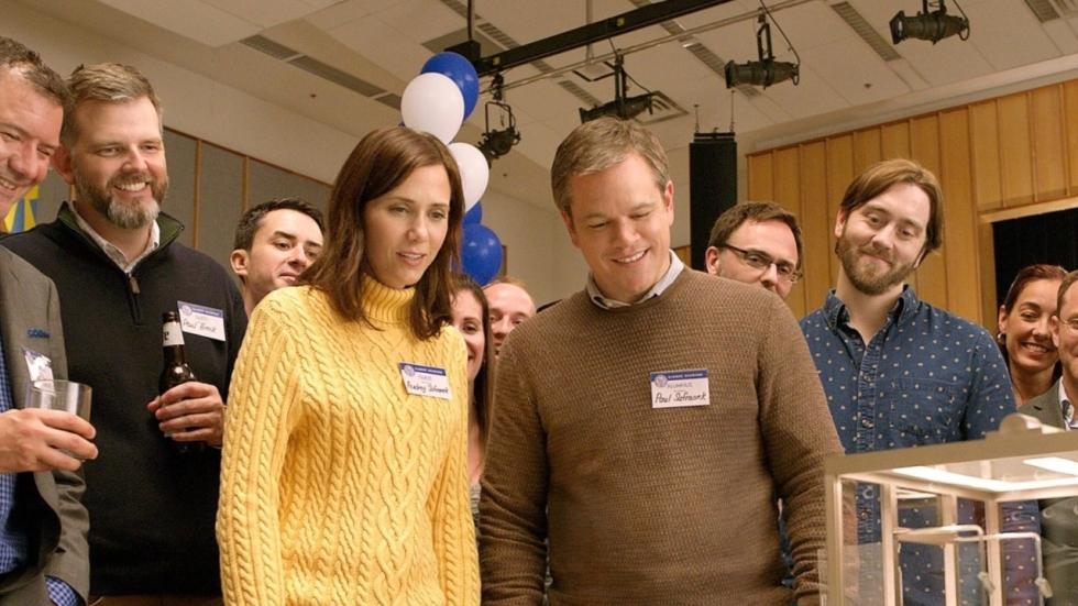 Matt Damon laat zich krimpen in teaser trailer scifi-komedie 'Downsizing'