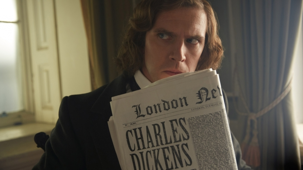 Dan Stevens is Dickens in trailer 'The Man Who Invented Christmas'