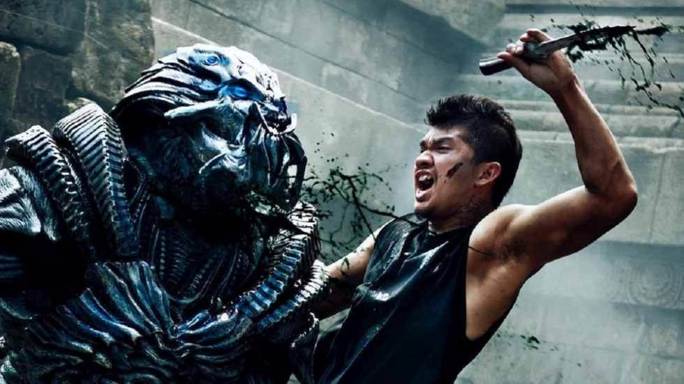 Sci-fi spektakel in trailer 'Beyond Skyline'