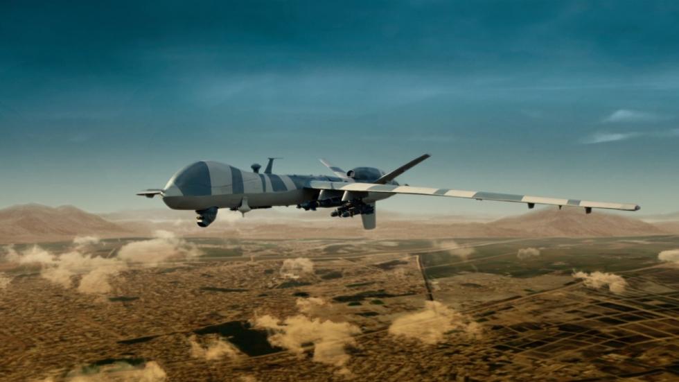 Blu-ray review 'Drone' - Sean Bean vs. slachtoffer