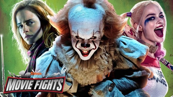 ScreenJunkies - Which franchise would be most improved by adding pennywise? - movie fights debut death match!!