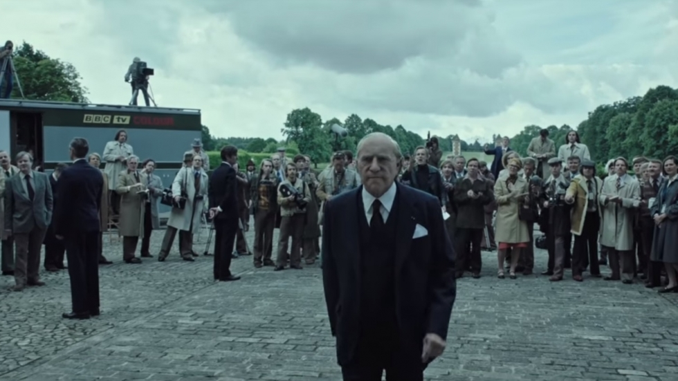 Onherkenbare Kevin Spacey in trailer Ridley Scotts 'All the Money in the World'