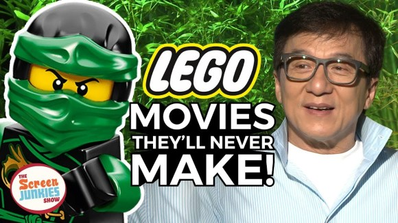 ScreenJunkies - Lego movies they'll never make w/ jackie chan & ninjago cast
